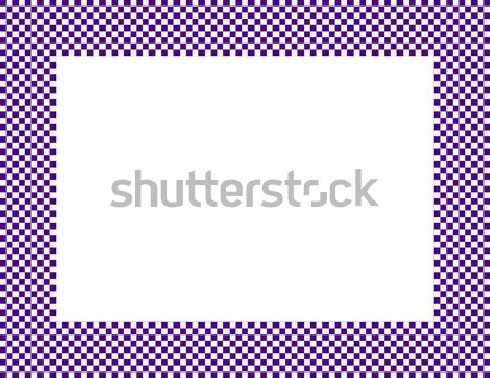 Mor çerçeve yalıtılmış bo kâğıt Stok fotoğraf © karenr