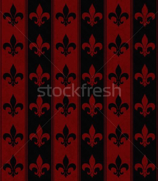 Siyah kırmızı kumaş kâğıt Stok fotoğraf © karenr