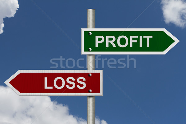 Profit versus Loss Stock photo © karenr