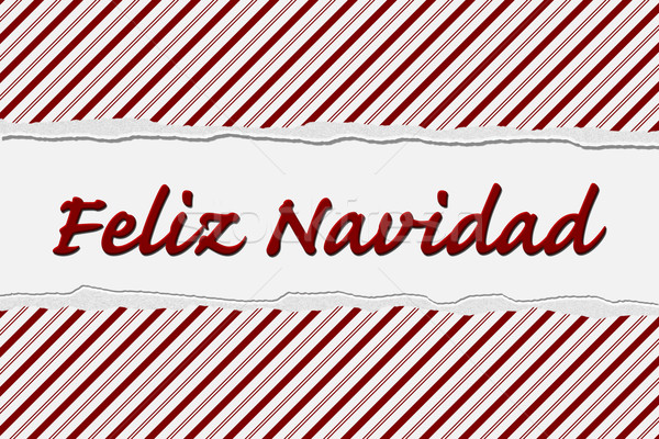Feliz Navidad Happy Holidays Stock photo © karenr