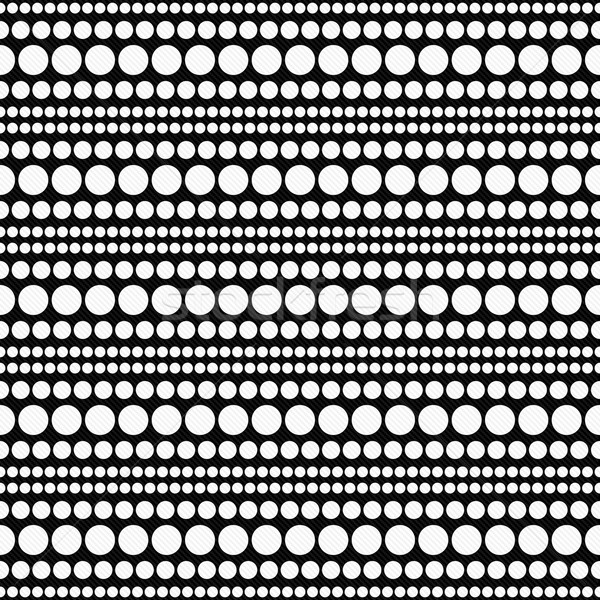 Beyaz siyah soyut dizayn karo Stok fotoğraf © karenr
