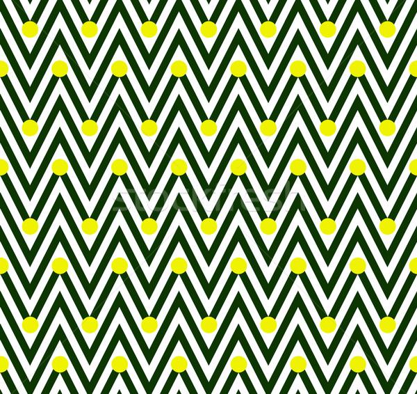 Yeşil beyaz yatay çizgili lekeli Stok fotoğraf © karenr