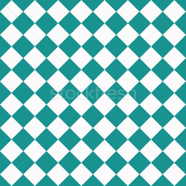 темно белый диагональ ткань бесшовный Сток-фото © karenr
