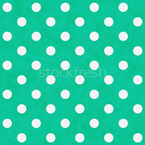 ストックフォト: 白 · 水玉模様 · ファブリック · シームレス · ファッション