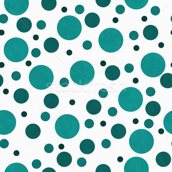 Blanco azulejo patrón repetir polca Foto stock © karenr