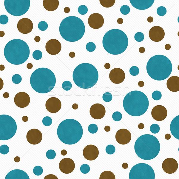 Bruin witte tegel patroon herhalen Stockfoto © karenr
