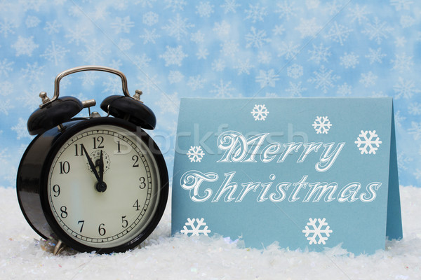 Merry Christmas Time Stock photo © karenr