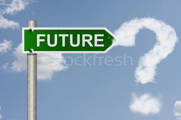 What is in your future Stock photo © karenr