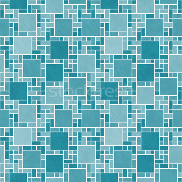 Foto stock: Branco · praça · mosaico · abstrato · geométrico · projeto