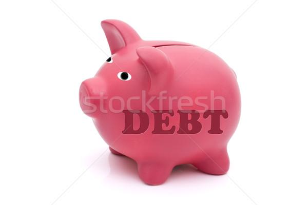 Repaying your debt Stock photo © karenr