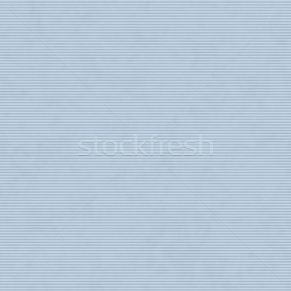 Azul delgado horizontal a rayas tejido Foto stock © karenr