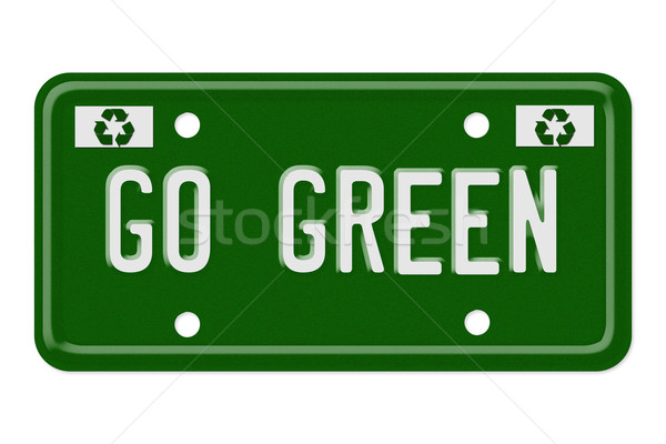 Go green Stock photo © karenr