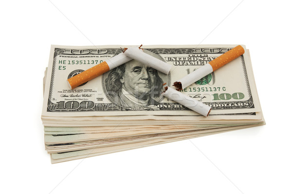 The cost of smoking Stock photo © karenr