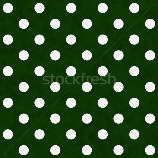 Blanche vert tissu Photo stock © karenr