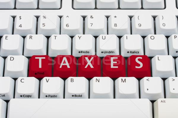 E-filing your tax returns Stock photo © karenr