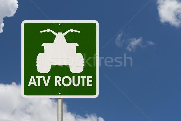 Places to ride ATV Stock photo © karenr