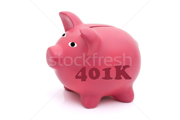 Saving for your retirement Stock photo © karenr