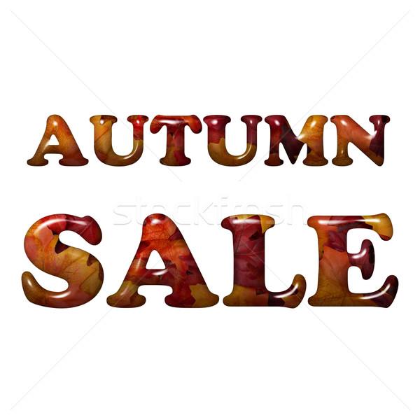 Autumn Sale Stock photo © karenr