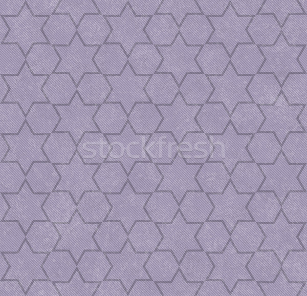 Purple Hexagon Patterned Textured Fabric Background Stock photo © karenr