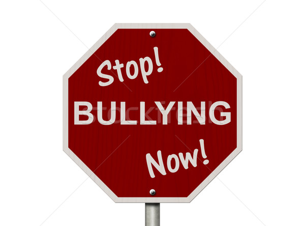 Stop Bullying Now Sign Stock photo © karenr