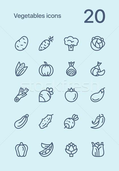 野菜 精進料理 ベクトル ウェブ ストックフォト © karetniy