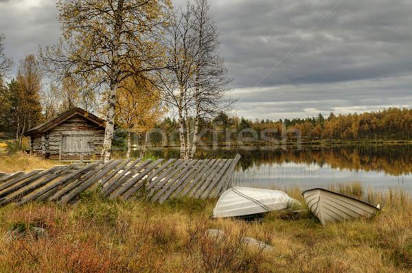 Furusjoen lake Stock photo © karin59