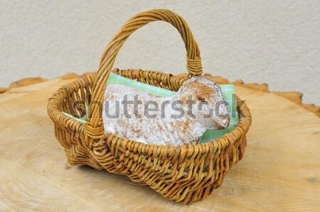 Pâques agneau printemps oeuf pain Photo stock © karin59