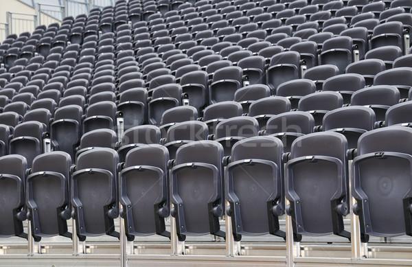 Théâtre chaises extérieur stade espace Photo stock © karin59