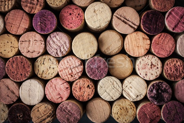 Wine corks background horizontal Stock photo © Karpenkovdenis
