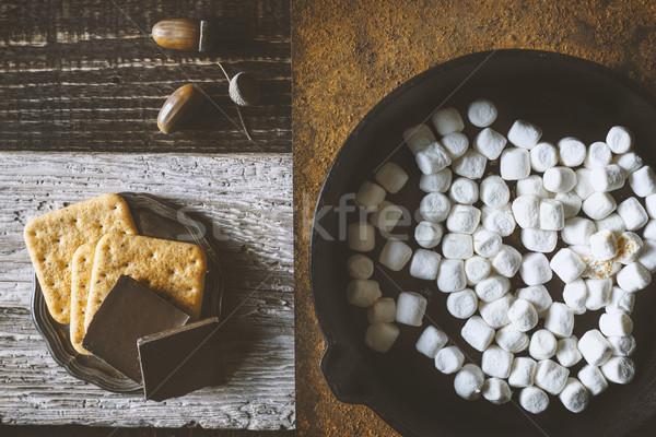 Ингредиенты различный фоны Top мнение фон Сток-фото © Karpenkovdenis