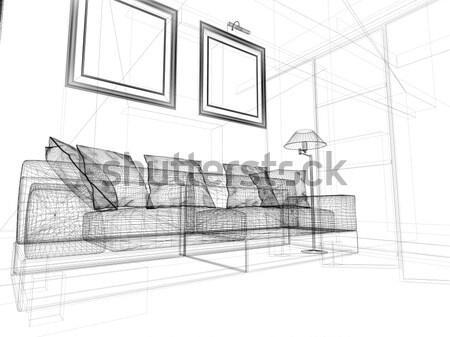 Dessin Chambre 3d : Dessin chambre d solutions pour la décoration