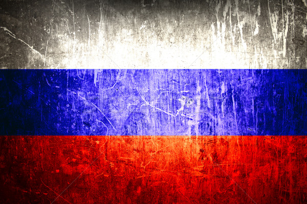 Russian flag Stock photo © kash76