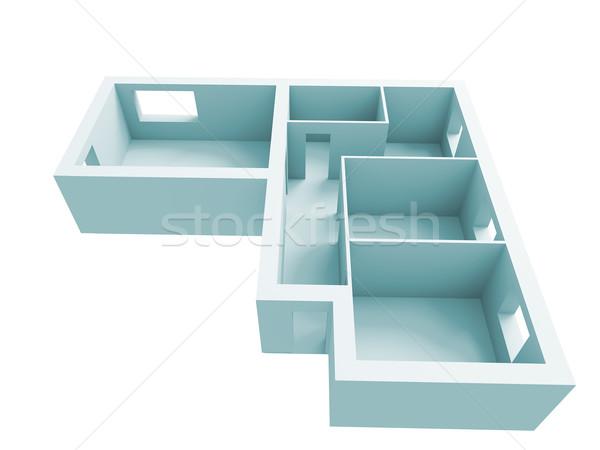 apartment project Stock photo © kash76