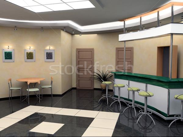 Bar in hotel Stock photo © kash76