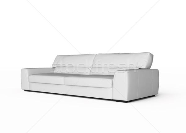 white sofa Stock photo © kash76
