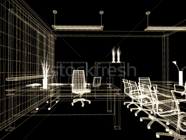 office interior Stock photo © kash76