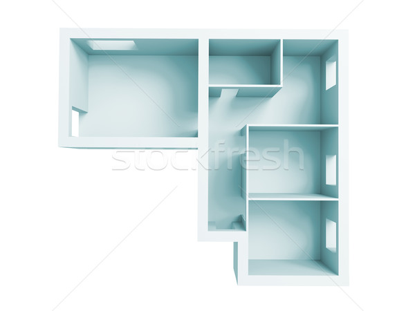 apartment project Stock photo © kash76