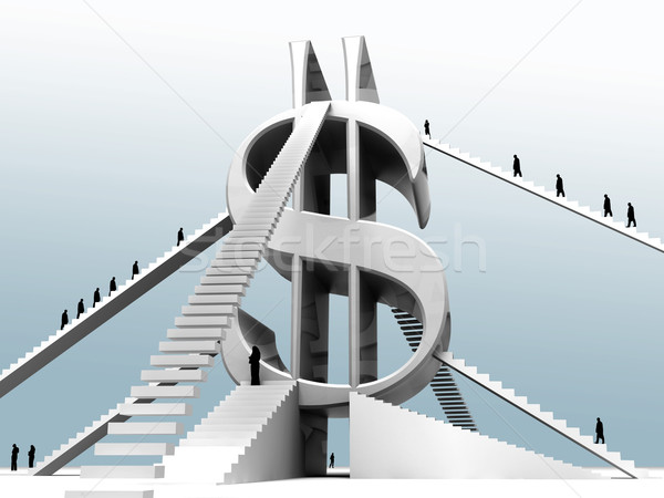 Ladder to success Stock photo © kash76