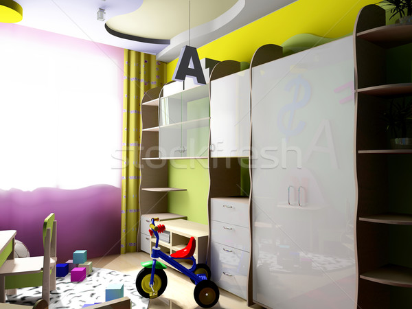 Children's room Stock photo © kash76