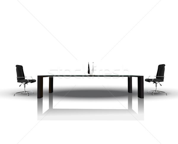 Modernes intérieur bureau vecteur eps10 affaires Photo stock © kash76