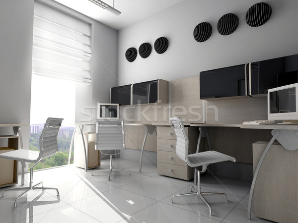 Modern office in Verde Stock photo © kash76