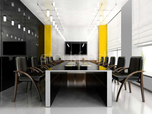 Modern room for meetings Stock photo © kash76