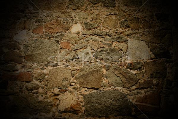 Mur tekstury czas Fotografia ściany miejskich Zdjęcia stock © kash76