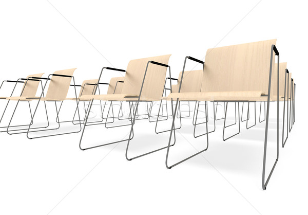Chairs for employment Stock photo © kash76
