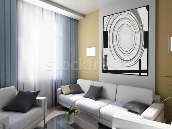 Quarto diretor exclusivo interior trabalhando espaço Foto stock © kash76