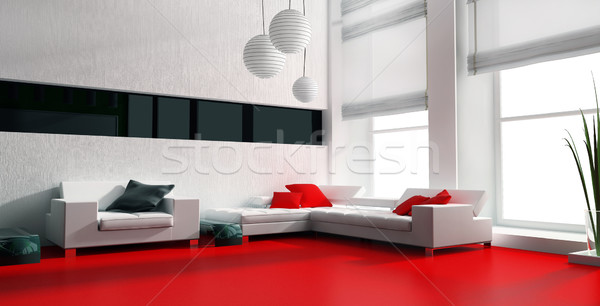 White furniture  Stock photo © kash76