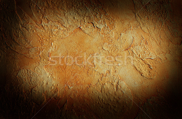 Structure of decorative plaster Stock photo © kash76