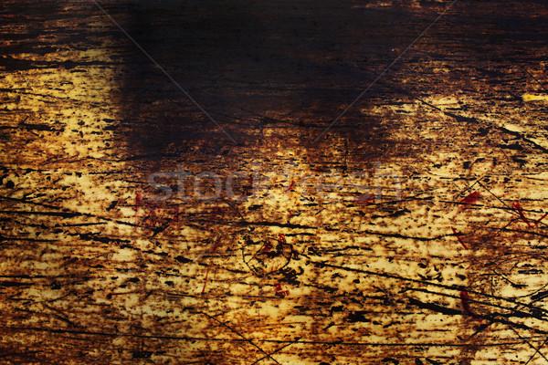 Arrugginito abstract stock immagine muro Foto d'archivio © kash76