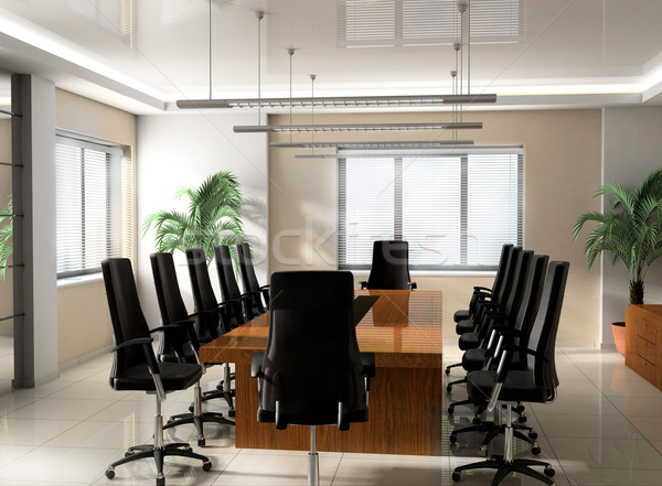 Modern Office boardroom Stock photo © kash76