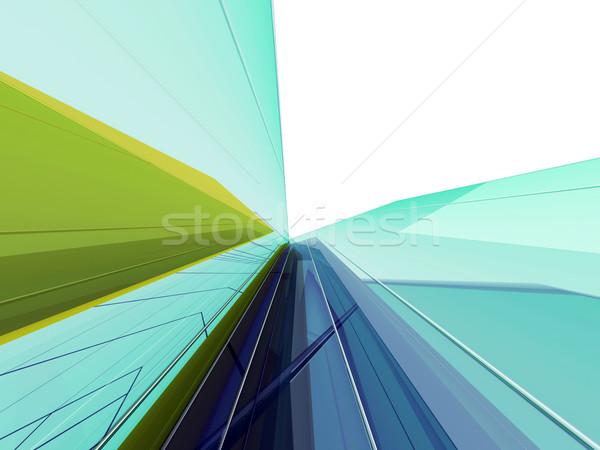 Abstract grafica stock immagine design spazio Foto d'archivio © kash76